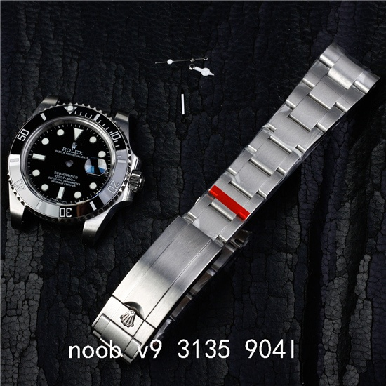 FIT 3135 movement 904l noob v9 case kit for submariner 116610