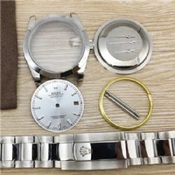 FIT ETA 2824 Movement watch case kit for fix DATEJUST 36MM DIAL
